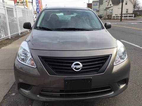 2013 Nissan Versa for sale at New Park Avenue Auto Inc in Hartford CT