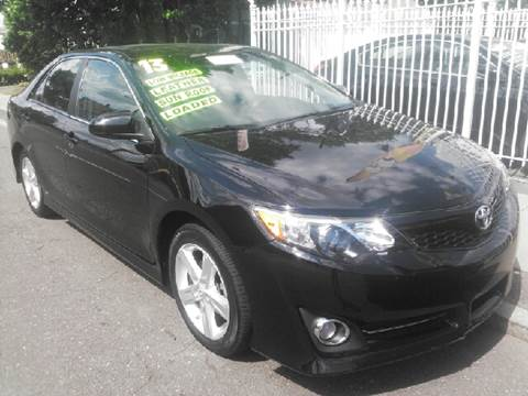 2013 Toyota Camry for sale at New Park Avenue Auto Inc in Hartford CT