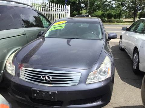 2008 Infiniti G35 for sale at New Park Avenue Auto Inc in Hartford CT