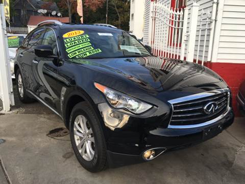2013 Infiniti FX37 for sale at New Park Avenue Auto Inc in Hartford CT