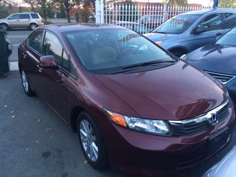2012 Honda Civic for sale at New Park Avenue Auto Inc in Hartford CT