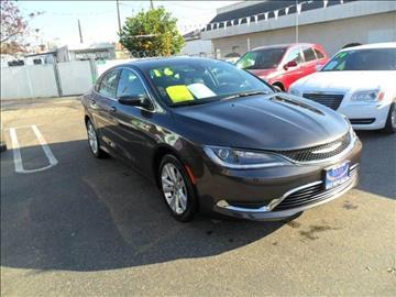 2016 Chrysler 200 for sale in Modesto, CA