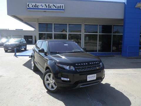2014 Land Rover Range Rover Evoque for sale in Gainesville TX