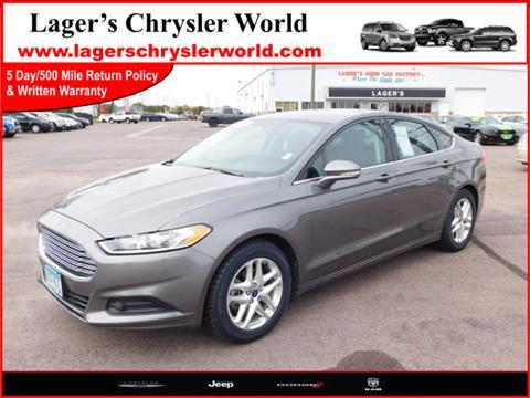 2013 Ford Fusion for sale in Mankato MN