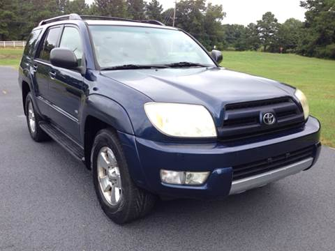 2004 Toyota 4Runner for sale at Global Pre-Owned in Fayetteville GA