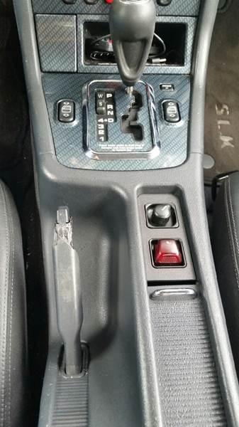 2000 Mercedes-Benz SLK SLK 230 Supercharged 2dr Convertible - Fayetteville GA