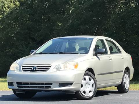 2004 Toyota Corolla for sale in Fayetteville, GA