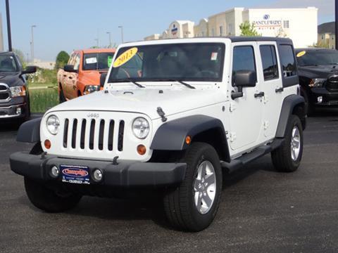 2013 Jeep Wrangler Unlimited for sale in Champaign, IL