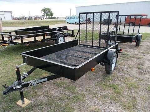2015 Doolittle 60x8  Utility for sale at Brad Waller Automotive in Stockton KS