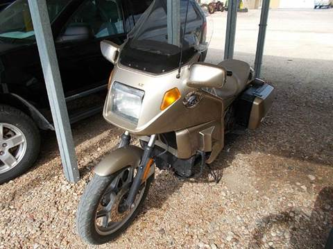 1987 BMW K100  for sale at Brad Waller Automotive in Stockton KS