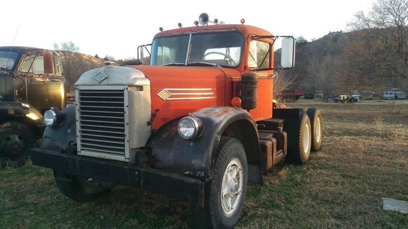 1966 Diamond T 921DF for sale at Brad Waller Automotive in Stockton KS