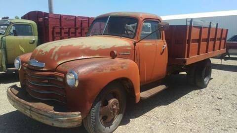 1949 Chevrolet Apache for sale at Brad Waller Automotive in Stockton KS