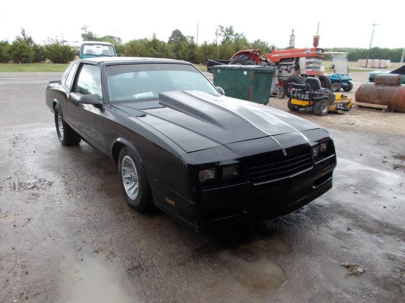 1987 Chevrolet Monte Carlo for sale at Brad Waller Automotive in Stockton KS