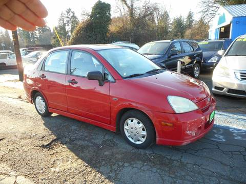 2003 Suzuki Aerio for sale in Vancouver, WA