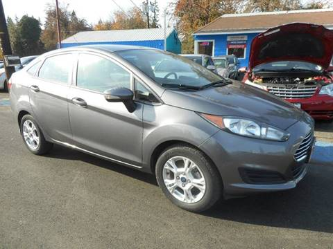 2014 Ford Fiesta for sale at Lino's Autos Inc in Vancouver WA