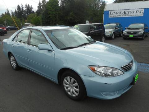 2006 Toyota Camry for sale at Lino's Autos Inc in Vancouver WA