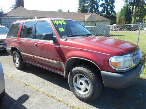 1999 Ford Explorer for sale at Lino's Autos Inc in Vancouver WA