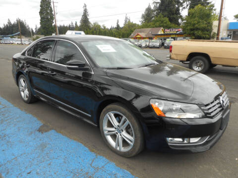 2013 Volkswagen Passat for sale at Lino's Autos Inc in Vancouver WA