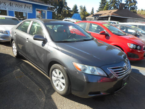 2008 Toyota Camry Hybrid for sale at Lino's Autos Inc in Vancouver WA