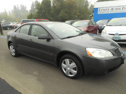 2006 Pontiac G6 for sale at Lino's Autos Inc in Vancouver WA