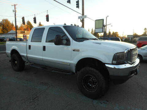 2001 Ford F-250 Super Duty for sale at Lino's Autos Inc in Vancouver WA