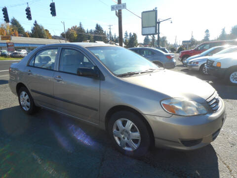 2004 Toyota Corolla for sale at Lino's Autos Inc in Vancouver WA