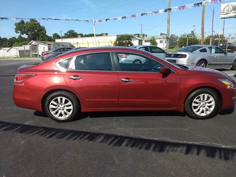 2015 Nissan Altima for sale at Kenny's Auto Sales Inc. in Lowell NC