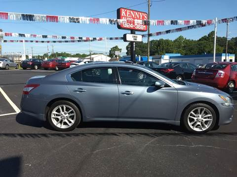 2010 Nissan Maxima for sale at Kenny's Auto Sales Inc. in Lowell NC