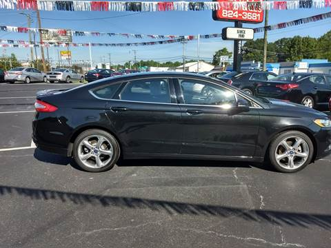 2014 Ford Fusion for sale at Kenny's Auto Sales Inc. in Lowell NC