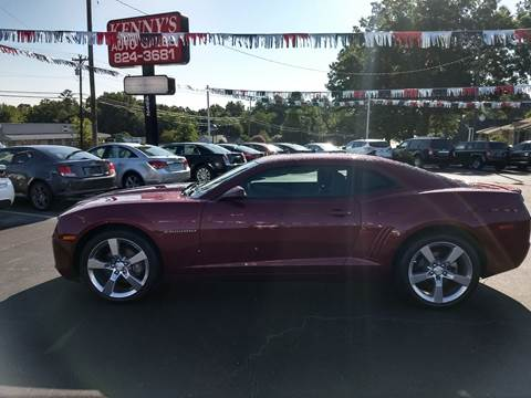 2011 Chevrolet Camaro for sale at Kenny's Auto Sales Inc. in Lowell NC