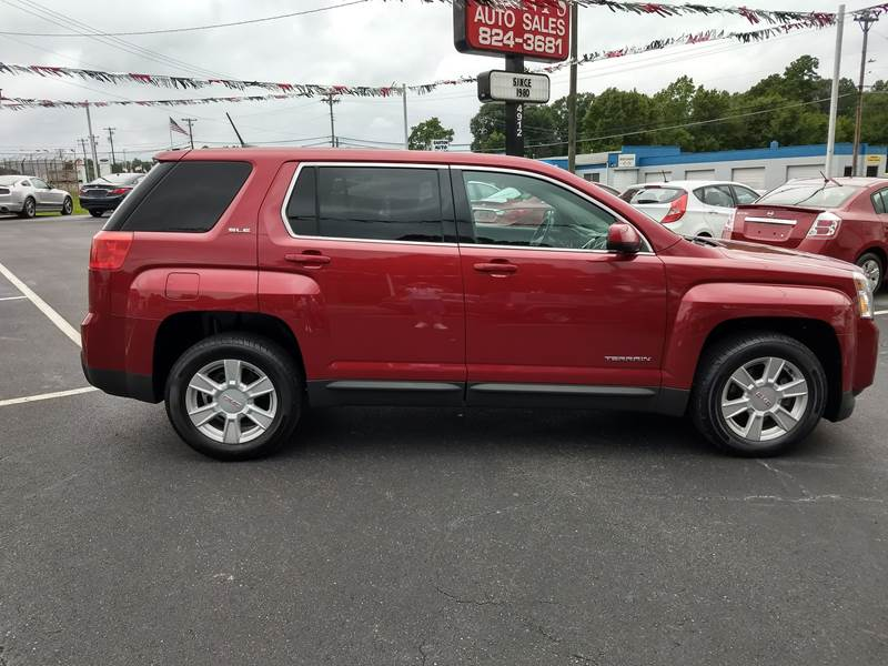 Kennys Auto Sales >> 2013 Gmc Terrain Sle 1 4dr Suv In Lowell Nc Kenny S Auto