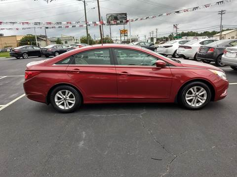 2012 Hyundai Sonata for sale at Kenny's Auto Sales Inc. in Lowell NC