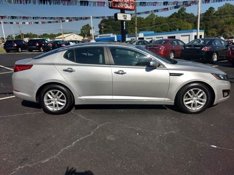 2012 Kia Optima for sale at Kenny's Auto Sales Inc. in Lowell NC