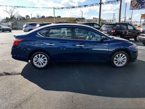 2017 Nissan Sentra for sale at Kenny's Auto Sales Inc. in Lowell NC