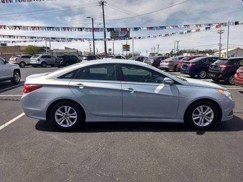 2014 Hyundai Sonata for sale at Kenny's Auto Sales Inc. in Lowell NC