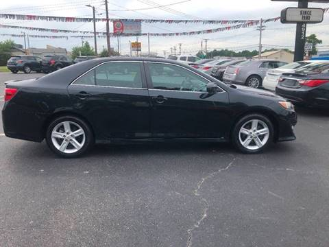 2012 Toyota Camry for sale at Kenny's Auto Sales Inc. in Lowell NC