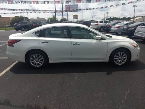 2014 Nissan Altima for sale at Kenny's Auto Sales Inc. in Lowell NC