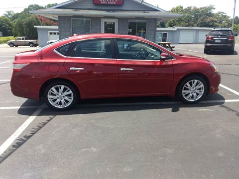 2013 Nissan Sentra for sale at Kenny's Auto Sales Inc. in Lowell NC