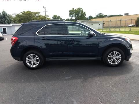 2016 Chevrolet Equinox for sale at Kenny's Auto Sales Inc. in Lowell NC