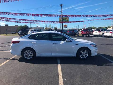 2016 Kia Optima for sale at Kenny's Auto Sales Inc. in Lowell NC
