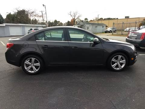 2015 Chevrolet Cruze for sale at Kenny's Auto Sales Inc. in Lowell NC