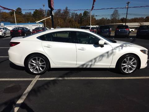 2015 Mazda MAZDA6 for sale at Kenny's Auto Sales Inc. in Lowell NC