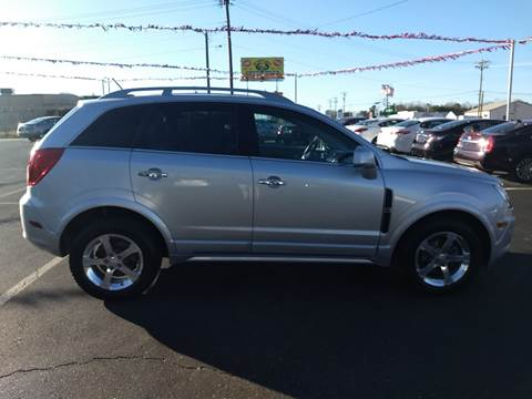 2013 Chevrolet Captiva Sport for sale at Kenny's Auto Sales Inc. in Lowell NC