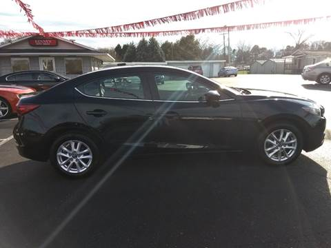 2016 Mazda MAZDA3 for sale at Kenny's Auto Sales Inc. in Lowell NC