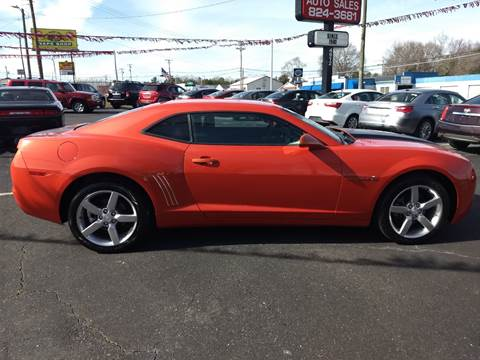 2010 Chevrolet Camaro for sale at Kenny's Auto Sales Inc. in Lowell NC