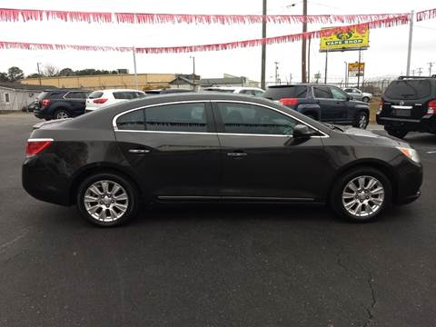 2013 Buick LaCrosse for sale at Kenny's Auto Sales Inc. in Lowell NC
