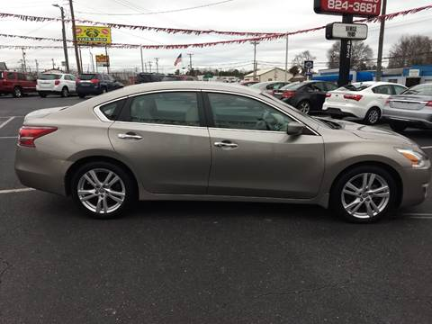 2013 Nissan Altima for sale at Kenny's Auto Sales Inc. in Lowell NC
