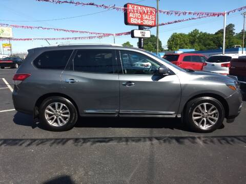 2015 Nissan Pathfinder for sale at Kenny's Auto Sales Inc. in Lowell NC
