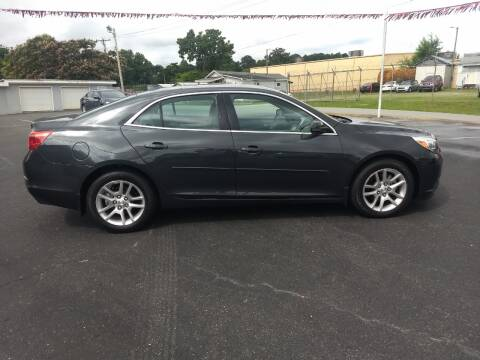 2014 Chevrolet Malibu for sale at Kenny's Auto Sales Inc. in Lowell NC