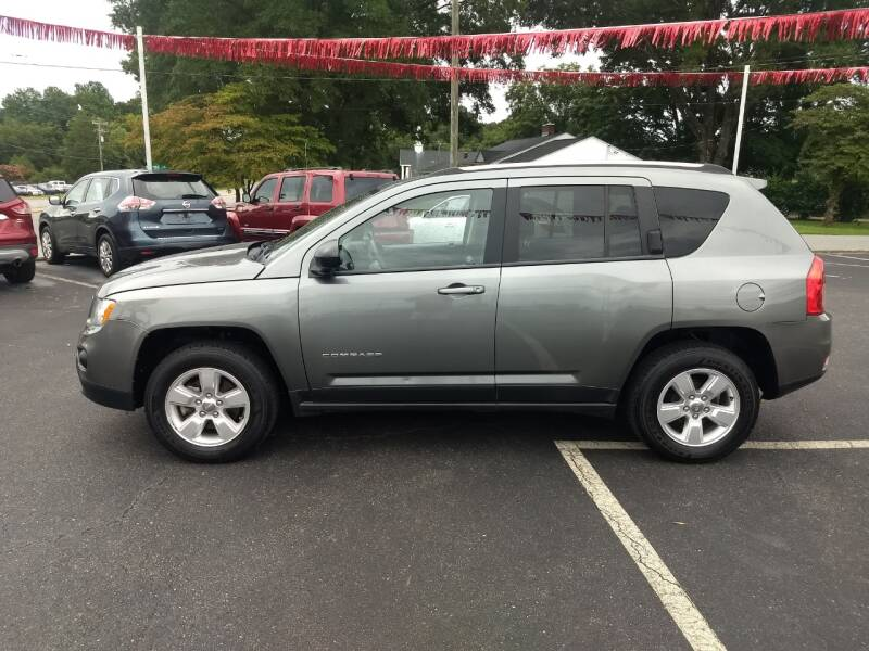 2013 Jeep Compass for sale at Kenny's Auto Sales Inc. in Lowell NC